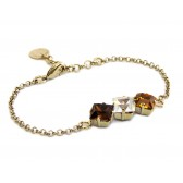 Trilogy - S036-M Bracciale Marrone